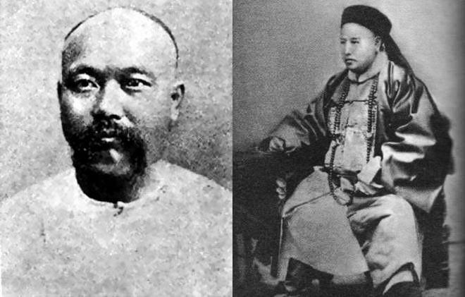 左:刘步蟾;右:林泰曾
