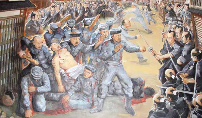 """1886年北洋水师访日之""""长崎事件"""""""
