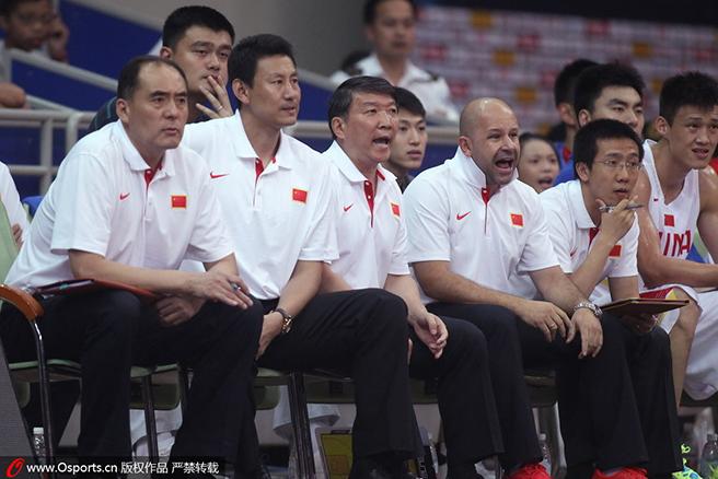 """宫鲁鸣的教练团队为集训队员们开启了""""国家队训练营"""""""