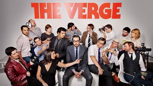 The Verge团队合影