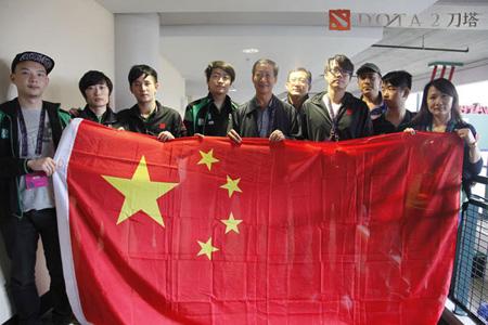 国家体育总局体育信息中心的领导与中国选手