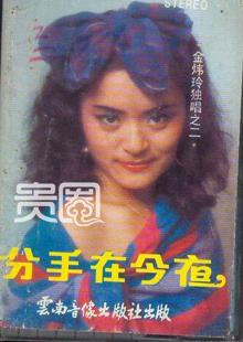 1990年代,金炜玲在上海十分有名