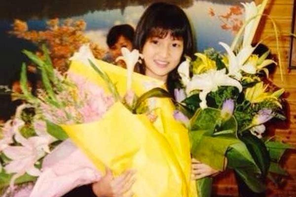 郭美美14岁生日所拍的照片