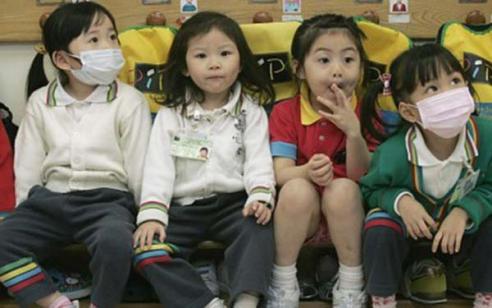香港的幼儿园孩子都十分懂礼貌讲规则