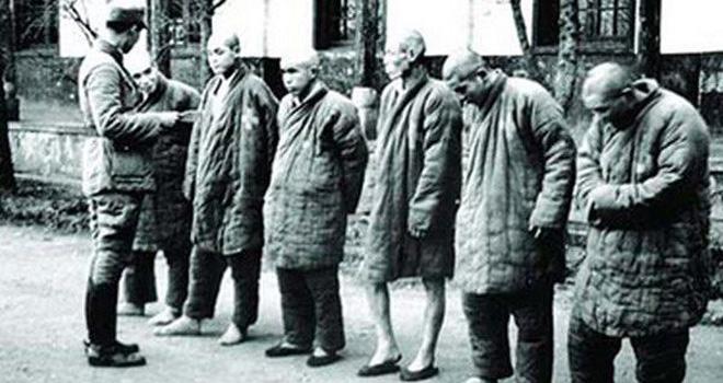 第三次长沙会战后被俘虏的日军士兵