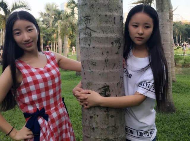 3月3号美女帅哥相约红树林公园玩游戏