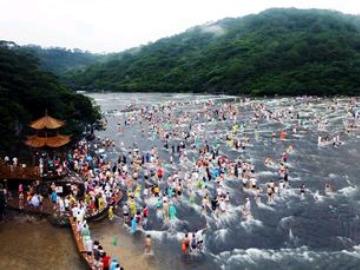 白水洋鸳鸯溪两日游