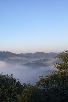 空心户外:中村~华盖山~裘岙环线