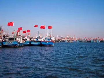 """天津""""滨海之眼"""" 图书馆北塘打鱼"""