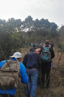西山天王坞越缥缈峰至观音寺穿越活动召集