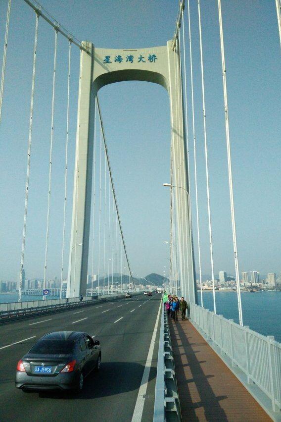 十三中78届2班12月17日星海湾大桥徒步活动召集