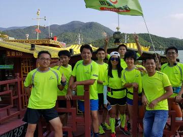 茂名悦跑团长坡水库之保护水资源主题跑