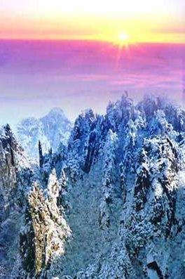 1月18黄山宏村新安江,看山看云看雾凇…