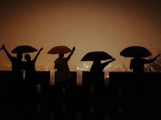 风雨无阻:夜登紫金山-第194期