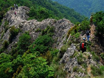2日周日五老卧龙山脊穿越灵岩景区