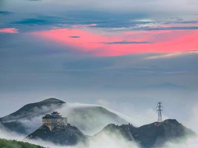 26日穿越芙蓉尖,看温州布达拉