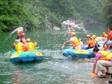 9月17日星期天 清远黄腾峡漂流一日游