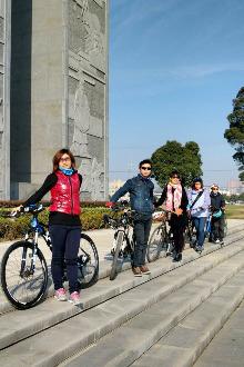 2017迎新年环昆山中环地面道路健身骑行活动