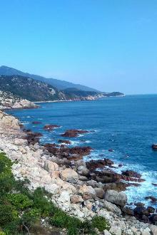 4月28日东西冲海岸线穿越