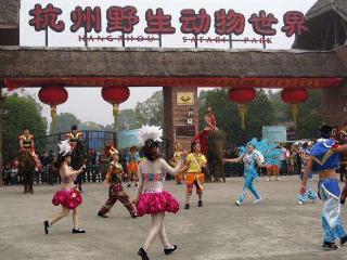 花园幼儿园杭州野生动物园亲子一日游