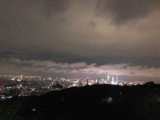 12月31日夜登白云山、赏夜景