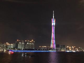 10月10日夜行广州,赏夜景