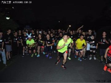 鄞州公园夜跑