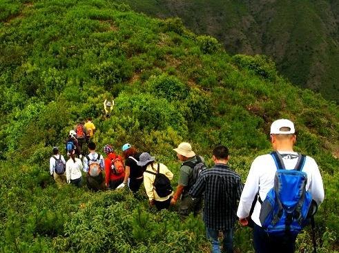 万步梯,万古楼爬山聚会