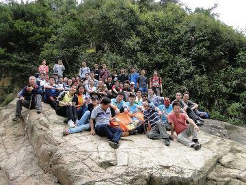 湖南人在深圳相约梧桐山爬山活动
