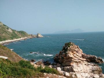 东西冲穿越深圳最经典最美的海岸线碧海蓝天