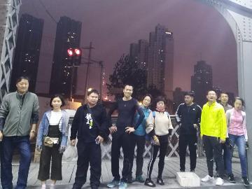 三人行徒步第三十六期张江南线夜徒