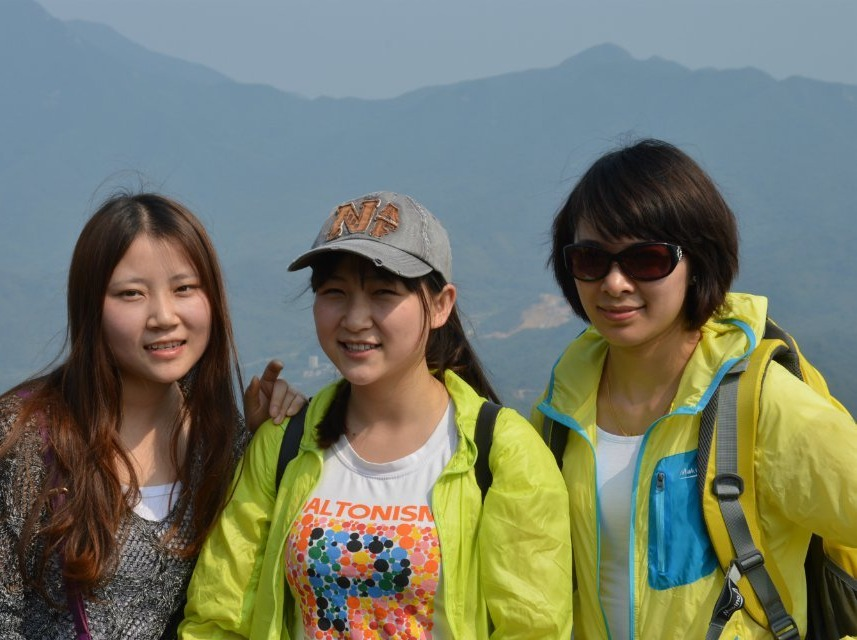 9月13日勇攀深圳第一高峰梧桐山