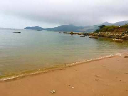 珠海高栏港海岸线穿越享受自然景观