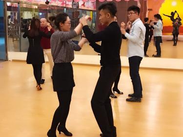 每周六晚固定salsa社交拉丁舞学习体验