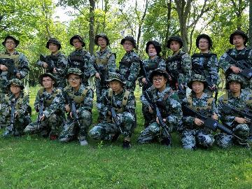 彩弹真人CS之CQB演习(9月9日)