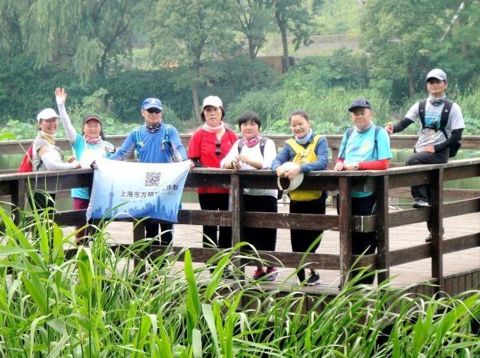 7月22日复兴岛至新江湾城25公里徒步