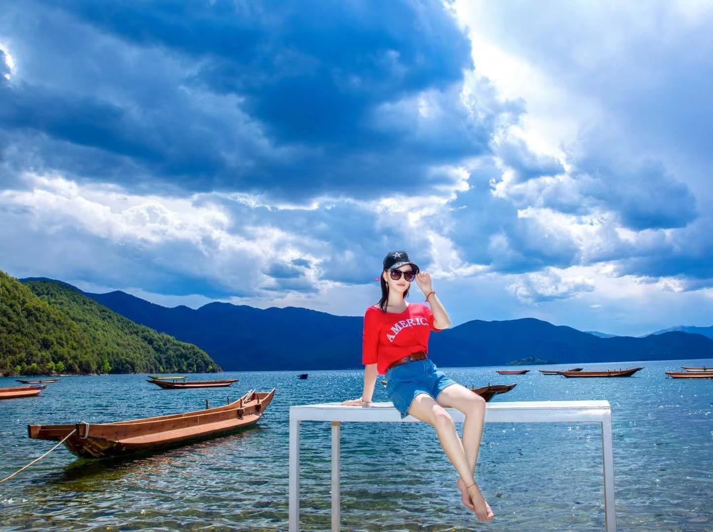 泸沽湖 度假胜地 12号下班出发