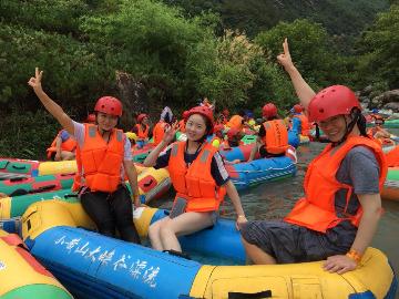 苏州阳光户外7.1小黄山漂流
