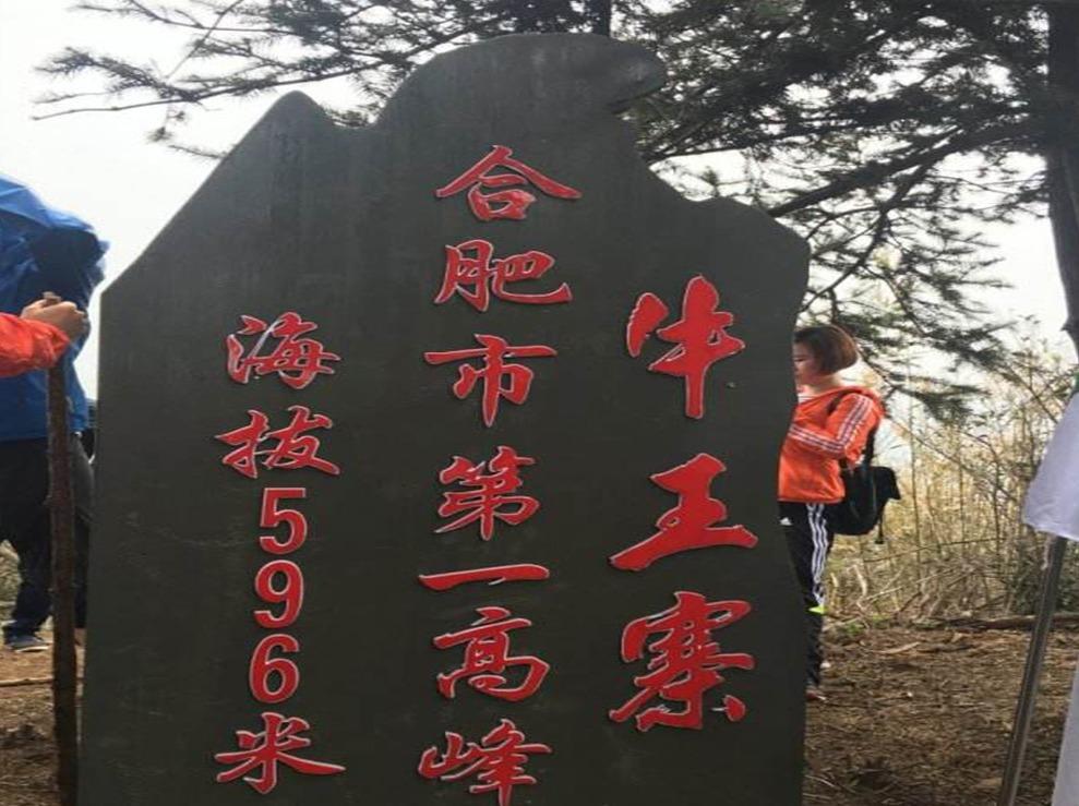 秋日攀登合肥最高峰牛王寨 最美红杉林活动