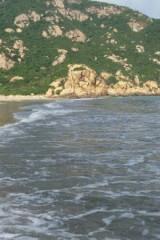 4月2日星期天,三浪湾海岸线