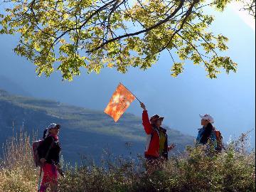 【随风远行户外】徒步云朵上的羌寨—萝卜寨