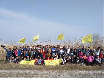4月9号欢乐户外环金鸡湖踏青休闲游!