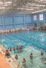 7月15日星期六通化三道江温泉游泳活动