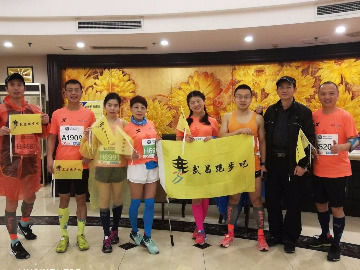 武昌跑步吧  例跑450期<br>周三绿道例跑