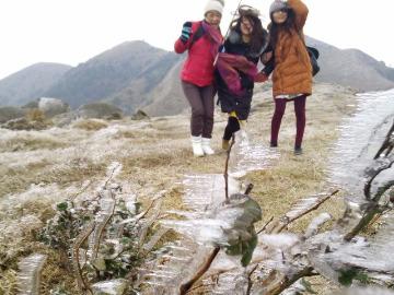 元旦自驾游仙女峰观赏冰霜奇景两日游
