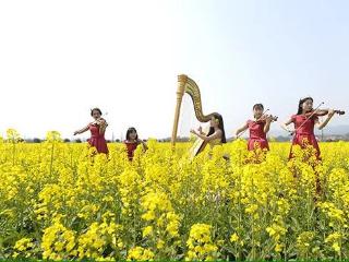 本周六,第十届大门岛油菜花节开幕