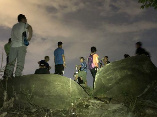 森林徒步 114次南山夜爬 8.23
