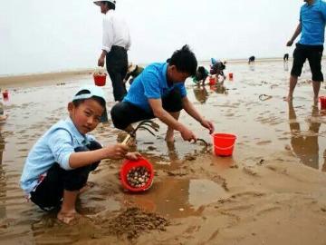 体验渔民生活,赶海,游泳,戏水