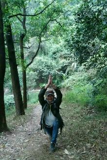 户外瑜伽公益相约云溪生态公园