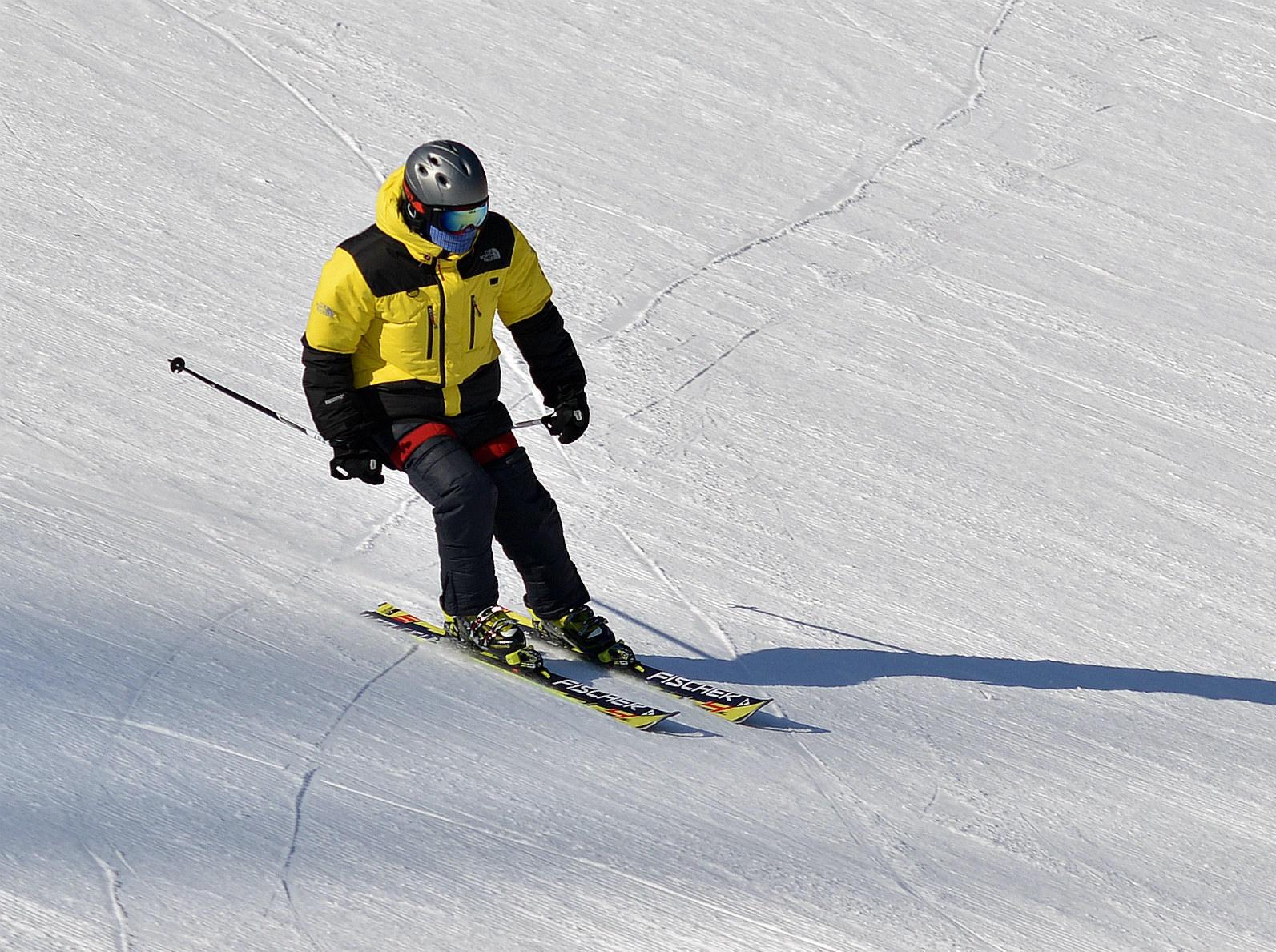 12月6号 周三怀北滑雪